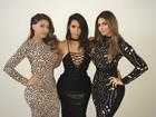 Kim Kardashian usa vestido sexy e exibe cinturinha