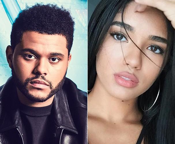 The Weeknd e Yovannna (Foto: Reprodução/Instagram)