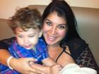 Veja as lembrancinhas que Priscila Pires deu na maternidade