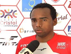 Marion, atacante do Vila Nova (Foto: Reprodução / TV Anhangura)
