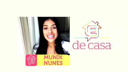 Munik estará no programa 'É de Casa' neste sábado(14)