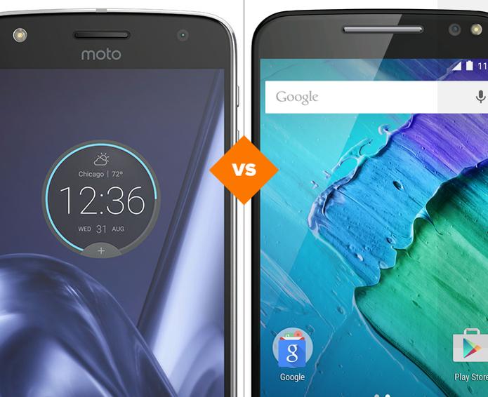 Moto Z Play e Moto X Style: veja comparativo de ficha técnica (Foto: Arte/TechTudo)