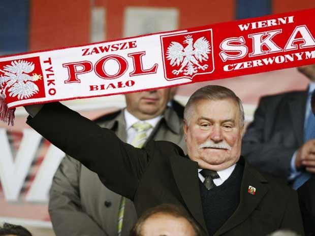 O ex-presidente polonês e Prêmio Nobel da Paz Lech Walesa, em foto de arquivo (Foto: Reuters)