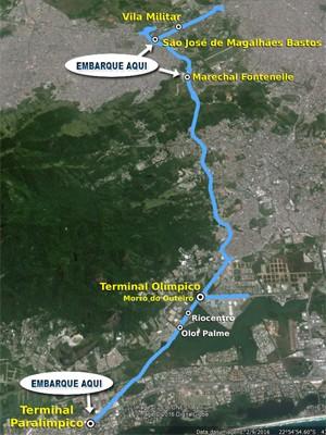 Neste fim de semana, população poderá embarcar em três estações do BRT da Transolímpica para conhecer a via; viagens serão gratuitas (Foto: SMTR/Divulgação)