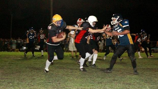Futebol americano, Manaus (Foto: Adeilson Albuquerque/Globoesporte.com)