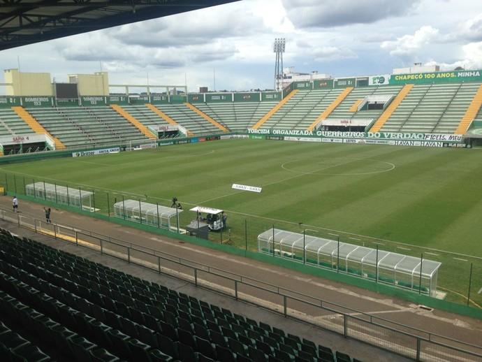 Arena Condá Chapecoense x Inter de Lages (Foto: Eduardo Florão)