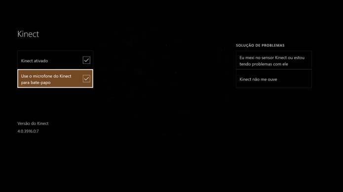 Microfone não funciona no chat do Xbox One (Foto: Reprodução/Murilo Molina)