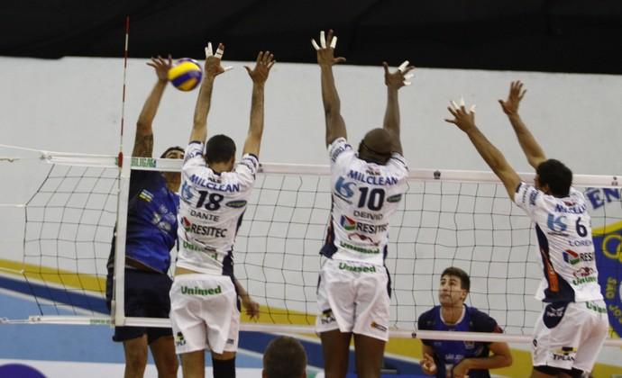 São José Vôlei x Vôlei Taubaté Superliga (Foto: Antonio Basílio/PMSJC)