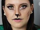 Blogueira do AM ensina a fazer make brilhosa e 'gatinho' para pular carnaval