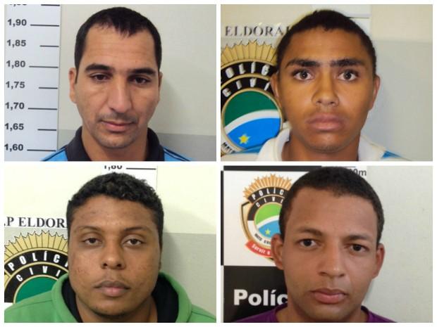 Polícia recaptura preso foragido da delegacia de Eldorado, diz delegado (Foto: Divulgação/ Polícia Civil)
