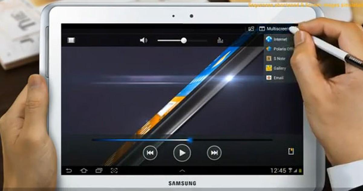 64afd668f G1 - Novo Galaxy Tab com tela de 10.1 terá caneta e recurso multitarefa -  notícias em Tecnologia e Games