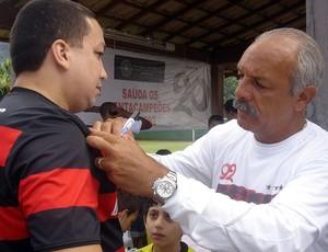 Pelada 20 Anos do Penta, Flamengo, Junior (Foto: Igor Castello Branco / Globoesporte.com)