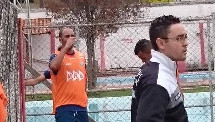 Leandro Euzébio, treino Tupi-MG (Foto: Bruno Ribeiro)