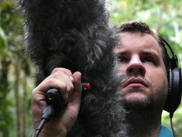 Juan Pablo Culasso trabalha há 12 anos gravando sons da natureza (Foto: BBC)