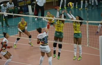 Após espera, Brasília vence o Bauru e encosta na 5ª posição na Superliga