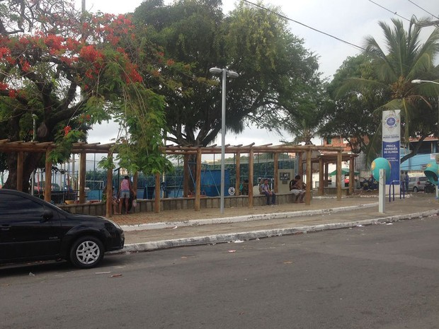 Um morre e ao menos 6 são baleados no Garcia, em Salvador. Bahia (Foto: Rafael Teles/ G1)