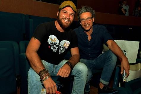 Emílio Dantas e Luiz Carlos Vasconcelos (Foto: Cristina Granato)