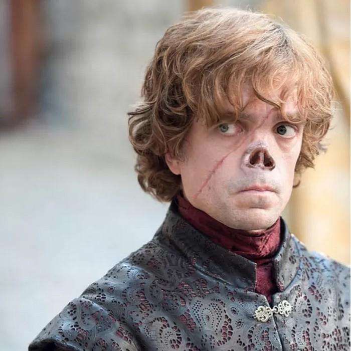 Tyrion Lannister se a série 'Game of Thrones' fosse fiel ao visual dos personagens do livro (Foto: Reprodução/Reddit)