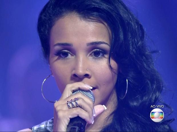 Paulynha Arrais deixou o programa na terceira fase do programa  (Foto: Reprodução/TV Globo)