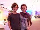 Júlia Lemmertz leva filho para assistir ao show do Paralamas no Rock in Rio