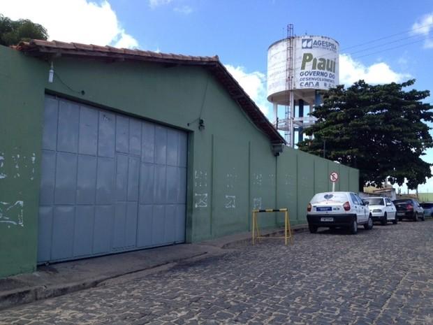 Penintenciária Casa de Custódia em Teresina (Foto: Catarina Costa/G1)