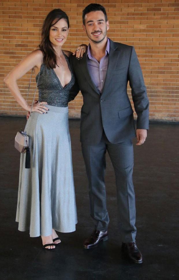 Marcos Vera e Rosana Mulholland (Foto: AGNews / Daniel Pinheiro)