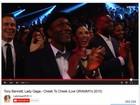 Lady Gaga usa aplausos de show da Madonna no Grammy em seu vídeo
