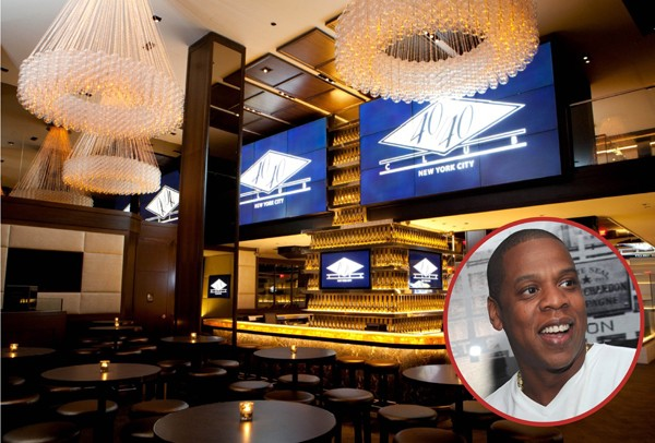 Jay-Z é dono do 40/40 Club em Nova York. É um bar dedicado a esportes desde 2003 que também serve comidas leves e aperitivos (Foto: Getty Images / Divulgação)