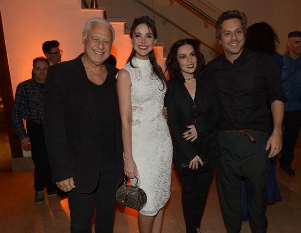 Antônio Fagundes, Alexandra Martins, Karen Brusttolin e Alexandre Nero (Foto: Francisco Cepeda/AgNews)