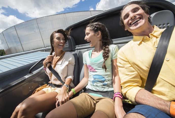 Curta a alta velocidade no Test Track Presented by Chevrolet (Foto: Divulgação)
