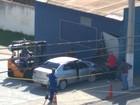 Motorista passa mal e bate carro em muro em Barra Mansa, RJ