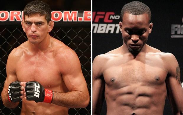 montagem UFC MMA Paulo Thiago e Sean Spencer (Foto: Arte / Globoesporte.com)