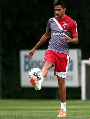 Alan Kardec São Paulo treino (Foto: Marcos Ribolli / Globoesporte.com)
