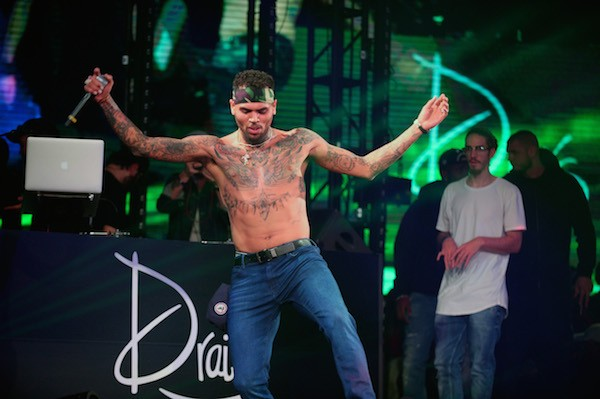 O rapper Chris Brown (Foto: Getty Images)