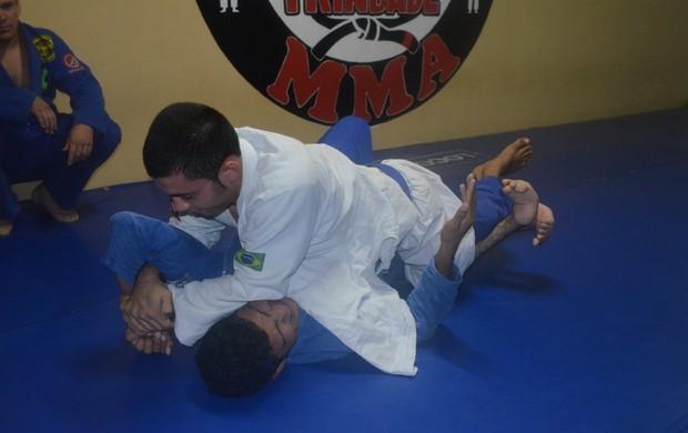 Maurício Morais é exemplo de superação no Jiu-jitsu (Foto: Alberto Rolla)
