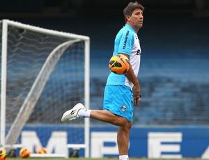 Renato Gaúcho no treino do Grêmio (Foto: Lucas Uebel / Site Oficial do Grêmio)
