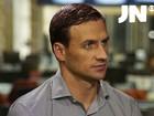 Ryan Lochte fala com exclusividade para o Jornal Nacional em Nova York