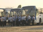 Rodoviários mantêm paralisação de ônibus de empresa em Manaus