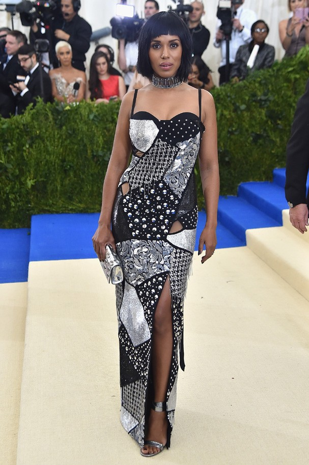 """NEW YORK, NY - MAY 01:  Kerry Washington attends the """"Rei Kawakubo/Comme des Garcons: Art Of The In-Between"""" Costume Institute Gala at Metropolitan Museum of Art on May 1, 2017 in New York City.  (Photo by Theo Wargo/Getty Images For US Weekly) (Foto: Getty Images For US Weekly)"""