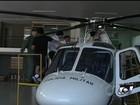 Helicópteros do estado devem fazer voo de teste na sexta-feira, em Goiás