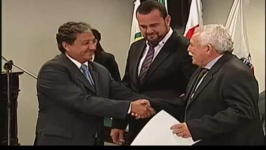 Diplomação dos eleitos na região é realizada no Fórum de Uberaba