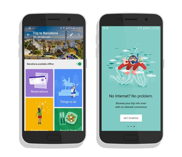 Google testa novo app para viajantes (Foto: Reprodução/Android World)