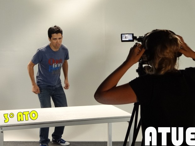 3º Ato: atuação (Foto: Sangue Bom/TV Globo)
