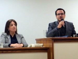 Promotora e juiz da Vara da Infância e Juventude falaram sobre o caso  (Foto: Caetanno Freitas/RBS TV)
