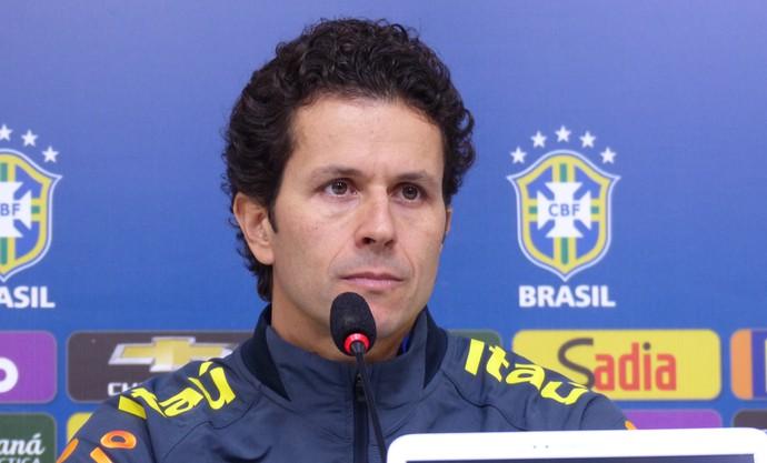 Rodrigo Lasmar seleção (Foto: Richard Souza)