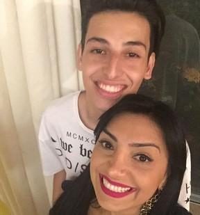 Eyshila com o filho Matheus (Foto: Reprodu��o/Instagram)