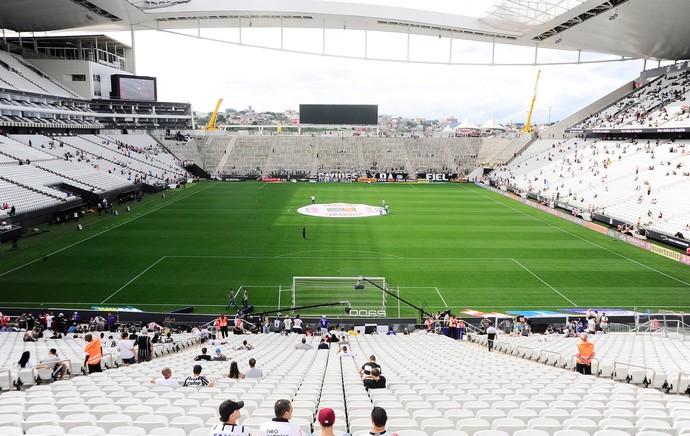 Corinthians x Santos - Arena Corinthians  (Foto: Marcos Ribolli)