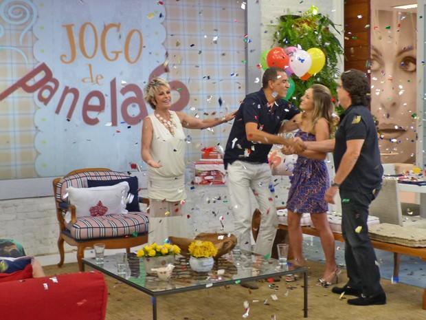 Depois de empate, Ricardo vence do Jogo de Panelas V (Foto: Mais Você / TV Globo)