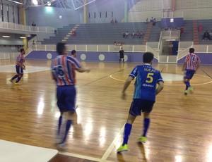 Olympico e Minas decidiram o Campeonato Metropolitano de Futsal em Nova Lima (Foto: Assessoria MTC)