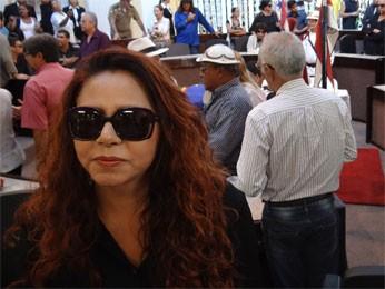 Cristina Amaral disse que Dominguinhos deixa lacuna na cultura nordestina (Foto: Katherine Coutinho/G1)